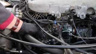Mercedes Diesel Engine Won't Shut Off When Turning the Key Off: Probable Cause