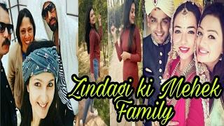 "Real Family Of ""Zindagi Ki Mehek"" Actor's"