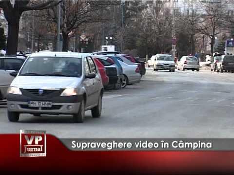 Supraveghere video în Câmpina