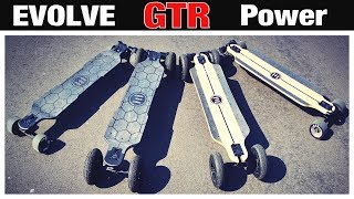 Evolve GTR Serie alle MODELLE! Review, Test, Anleitung, Bamboo, Carbon, Longboard, eSkateboard (DEU)