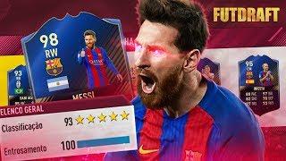 NOSSA QUE TIMAÇO !!! FIFA 17 FUT DRAFT EM BUSCA DO 193