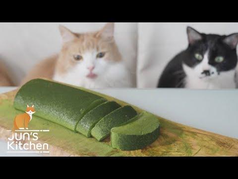 How to Make Green Tea Mousse Cake