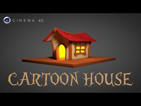 Cinema 4D Tutorial - Modeling Workflow Cartoon Halloween