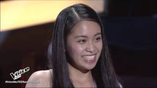 The Voice Teens Philippines Blind Audition Sophia Ramos   Stone Cold (4 Chair Turner)