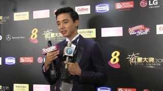 Aloysius Pang bags Best Newcomer award at 2015 Star Awards
