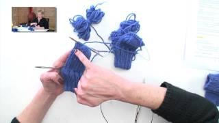2 Socks at-a-time on 2 Circulars, Parts 1-7