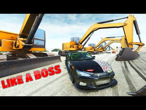 DRIFT AND DONUTS BEAMNG DRIVE