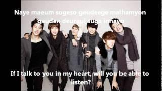 Boyfriend - I'll Be There (Eng+Rom) Lyrics