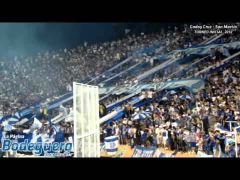 """""""La Banda está de fiesta... (Torneo Inicial 2012 - Godoy Cruz vs. San Martín SJ)"""" Barra: La Banda del Expreso • Club: Godoy Cruz"""