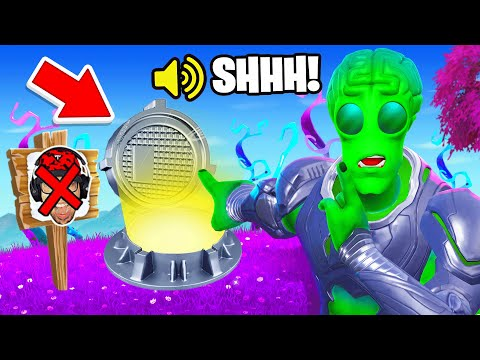 I Went UNDERCOVER in an ALIEN ONLY Tournament!