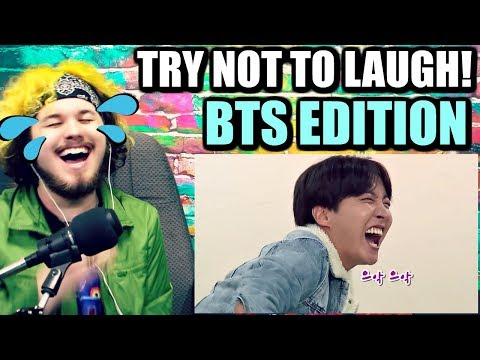 BTS Try Not To Laugh Challenge | J-HOPE & V GOT ME LAUGHING!! [#3]