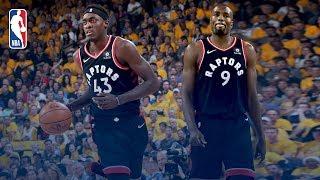 Pascal Siakam and Serge Ibaka Shine In Oracle | NBA Finals Game 3