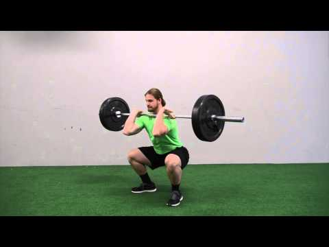 603. Pause Barbell Front Squat (:05 sec)