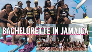 PLAYOFF SZN:🍒BACHELORETTE PARTY IN JAMAICA🇯🇲🍒| MY FIRST TIME OUT OF THE COUNTRY
