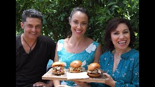 Youtube thumbnail for Smoked Pork Shoulder Buns by Lana & Grant (of Smokin' Buns)