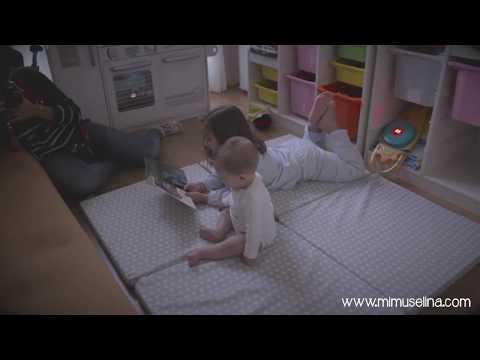 Manta de suelo para juego bebés y niños Mimuselina