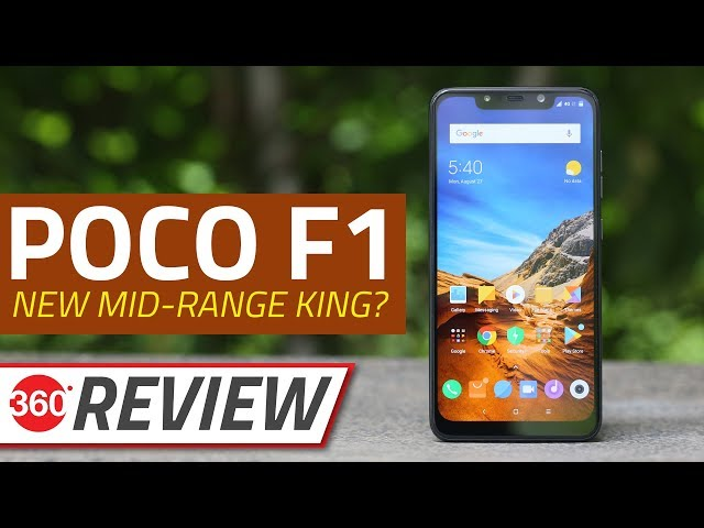 Poco F1 Gets Dark Theme, Crispier Icons, and More via Latest