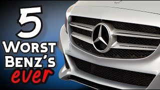 DO NOT Buy These 5 Mercedes Benz Luxury Cars!
