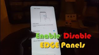 Enable or Disable Quick Menu Tab Galaxy S8 or Note 8
