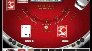 Full Table Baccarat At 32Red Casino
