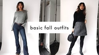 Basic Fall Outfits Youll Actually Wear