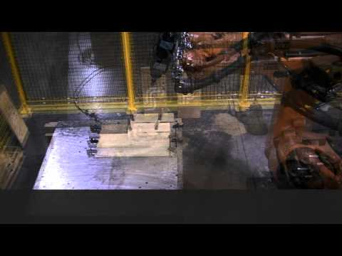 KUKA robot with Electric Spindle Package