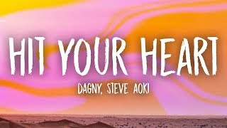 Dagny, Steve Aoki - Hit Your Heart (Lyrics)