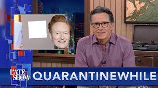 Quarantinewhile... This Paint Is Even Whiter Than Conan O'Brien