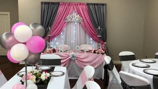 BUDGET FRIENDLY GLAM PRINCESS BABY SHOWER | DOLLAR TREE | EXCITING NEWS