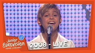 Mihail Puntov - Spit Angel - Russia - 2008 Junior Eurovision Song Contest