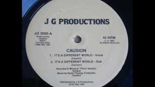 Causion - It's A Different World - 12 inch - 1990