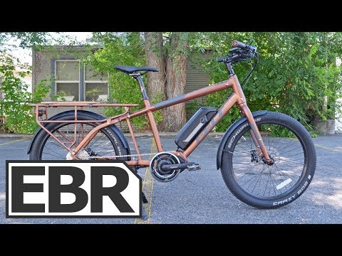Felt Tote'M Video Review – Nimble, Light Duty Cargo Electric Bike, Shimano STePs