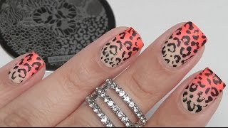 How To: Leopard Print Stamping