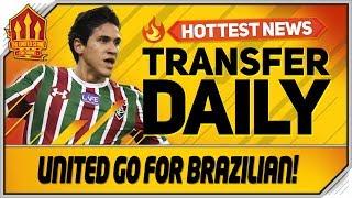 United In Pedro Transfer Swoop! Man Utd Transfer News