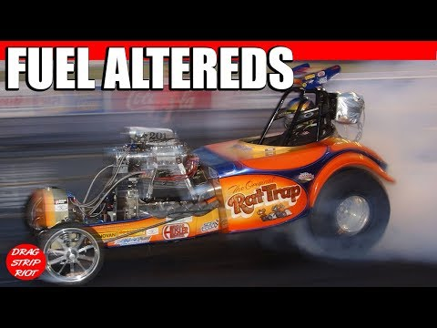 Nitro Fuel Altered Drag Racing Rat Trap VS Super Nanook Drag Strip Riot Nostalgia Videos Memphis