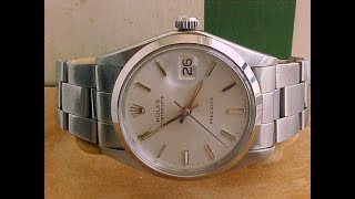 PAID WATCH REVIEW - ROLEX OYSTERDATE 6694
