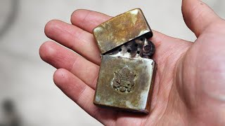 Zippo lighter restoration - US Army lighter brought back to life