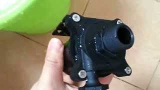 12V Powerful Micro DC Pump 50E-1280S model Hot Water Circulation High Lift 8m