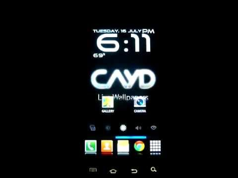 Video of RED PARTY -CAYD LiveWallpaper