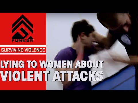 Quit Lying to Women About How to Survive Violent Attacks...Please.