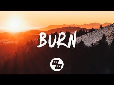 Marnik - Burn ft. Rookies (Lyrics / Lyric Video) Ryan Riback Remix