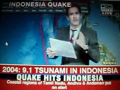 CNN News:Tsunami Hits Indonesia After 8,7 EarthQuake In Sumatra