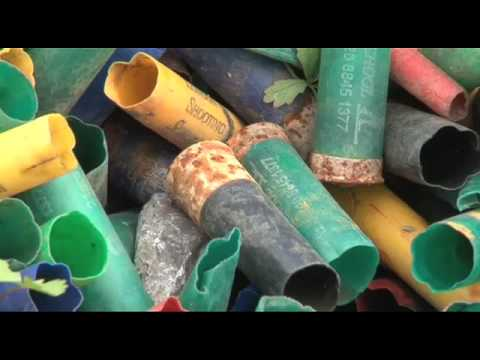 How to recycle shotgun cartridges