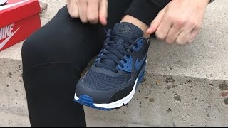 Nike Air Max 90 537384-417 ON FEET Unboxing video | Sneakersenzo