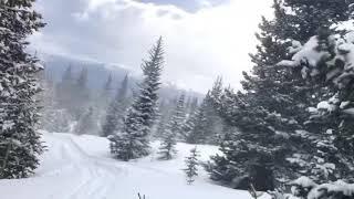 Катаем. Снег 30 см