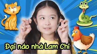 Gia đình là số 1 Phần 2   Bé Na - ''hoàng thượng'' - gà thành tinh đại náo nhà Lam Chi
