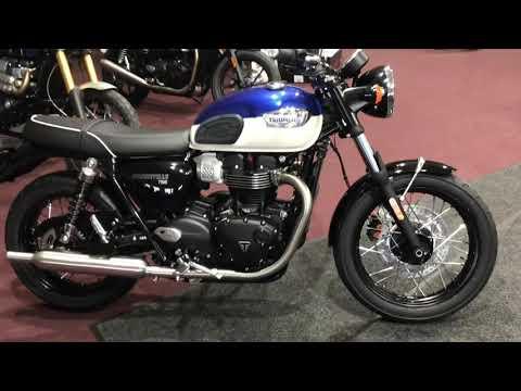 2022 Triumph Bonneville T100 in Belle Plaine, Minnesota - Video 1