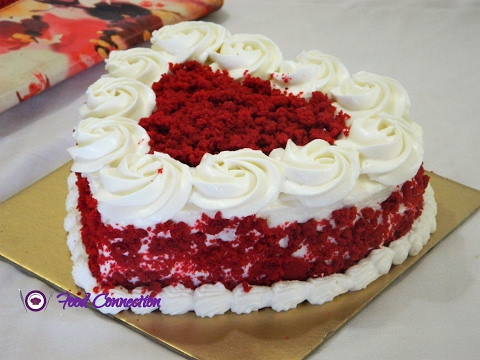 Video Eggless Red Velvet Cake   Cake for Beginners   Start To Finish - By Food Connection