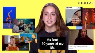 10 years of my life in 4 minutes... (So you think you can dance, Teen choice, record label, etc)