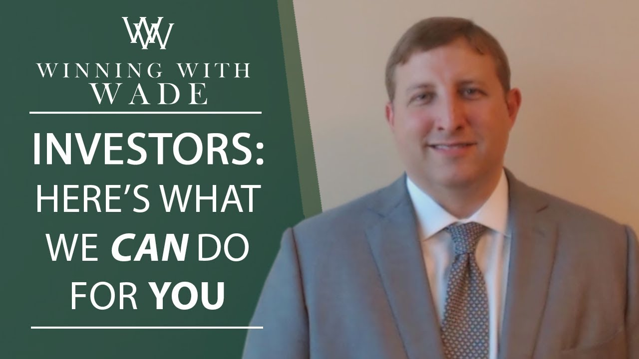 What We Can Do for Investors